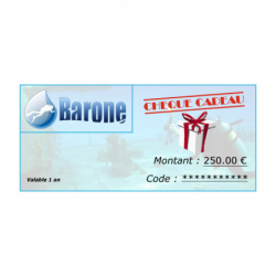 image: Chèque cadeau 250 €