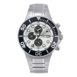 image: Montre Apnea Chronographe bracelet métal Beuchat