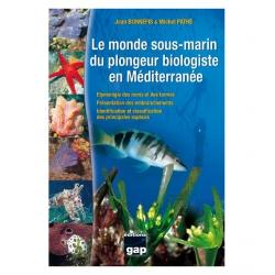 image: Le monde sous-marin du plongeur biologiste en méditerranée