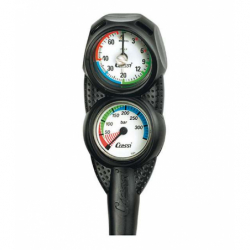 image: Mini Console 2 éléments Profondimètre + Minimanomètre Cressi