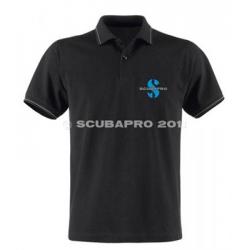 image: Polo noir homme Scubapro